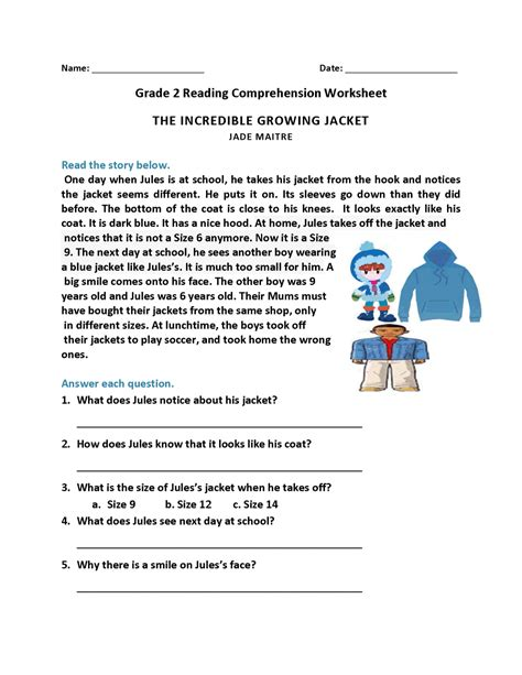 These reading comprehension worksheets will help your kids read and comprehend. English Comprehension Worksheets Grade 9 : Reading Comprehension Worksheets For Grade 3 Your ...