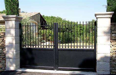 prix portail fer forgé prix d un portail en fer forg 233 2019 travaux