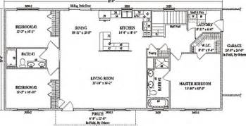 open concept ranch floor plans jamestown iv by wardcraft homes ranch floorplan