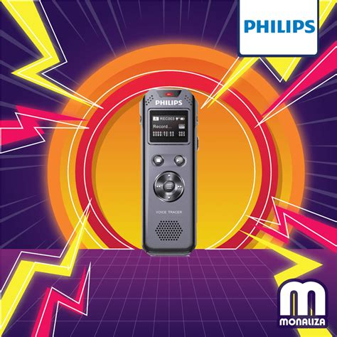 philips voice tracer digital recorder gb vtr  monaliza