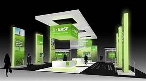 BASF Corporate booth design for Impact Unlimited on Behance