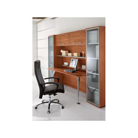 surmeuble de bureau bureau direction enosi avec retour sur meuble de rangement