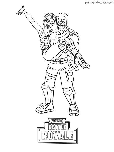 skull trooper coloring page hunter blog