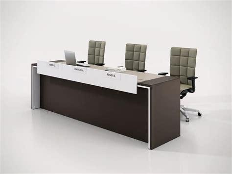 Table Bureau Design - color conference desk for conferences room idfdesign