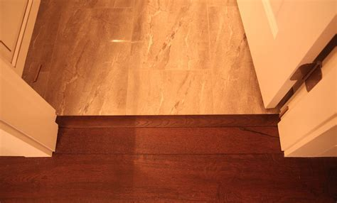 engineered hardwood flooring transition installation