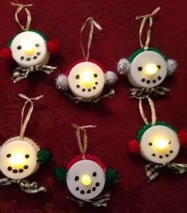 Mom shares a creative and easy Christmas ornament craft