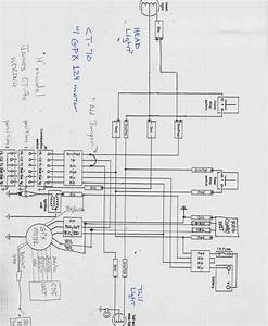 Wiring Diagram For Chinese Mini Chopper  U2013 Readingrat Net