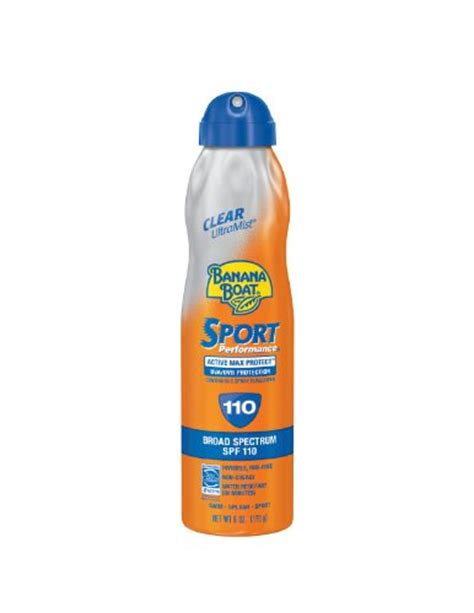 Banana Boat Scalp Sunscreen by Banana Boat Quik Dri Sport Body Scalp Spray Sunscreen Spf