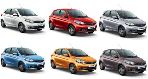 tata tiago colors red orange brown silver blue white gaadikey