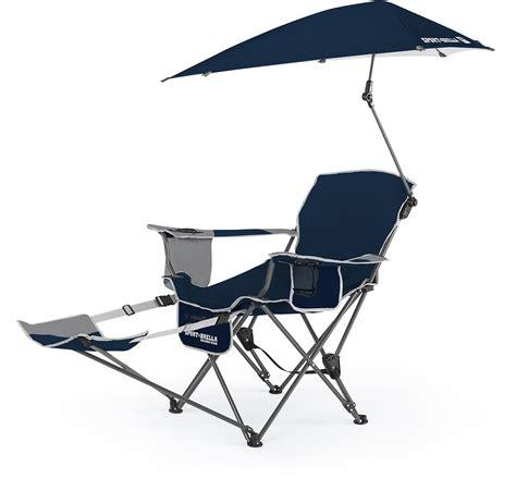 Sport Brella Chair Replacement Umbrella by Sklz Sport Brella Folding Recliner Chair W Umbrella