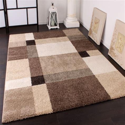 tapis lourd tiss 233 moderne design style beige cr 232 me marron dimension