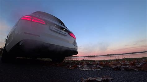 Evening music by Mercedes-AMG E63 S 4-Matic Estate's V8 BiTurbo in Sweden - YouTube