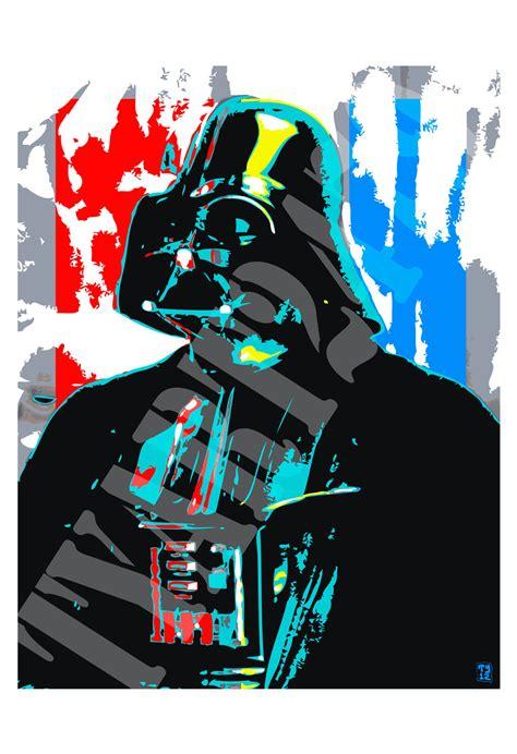 Darth Vader Star Wars Pop Art Poster Print by tyart2479 on