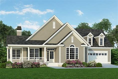 Country Style House Plan 3 Beds 2 Baths 1898 Sq/Ft Plan