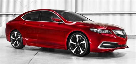 New Acura Models 2015 by Acura Tlx Prototype Previews All New 2015 Model