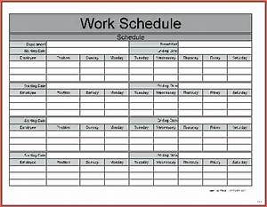Free Software For Payroll In Excel 7 Monthly Work Schedule Spreadsheet Samplebusinessresume