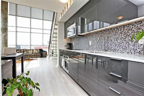 high gloss gray kitchen cabinets grey gloss kitchen cabinets office remake gloss