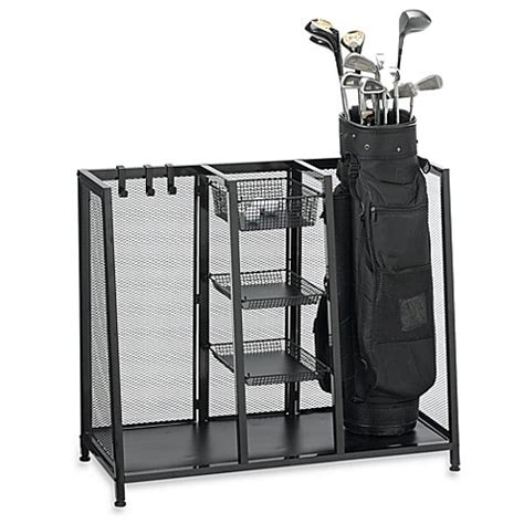 Metal Two Bag Golf Organizer  Bed Bath & Beyond
