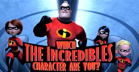 """Which """"the Incredibles"""" Character Are You?  Brainfall"""