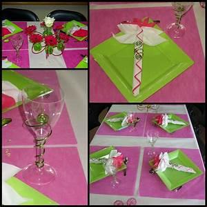 Deco Vert Anis : decoration de mariage vert anis et fushia id es et d ~ Teatrodelosmanantiales.com Idées de Décoration