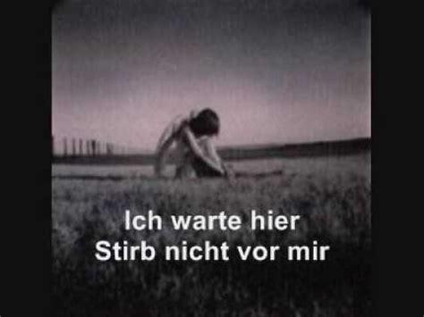 Rammstein Stirb Nicht Vor Mir (don't Die Before I Do