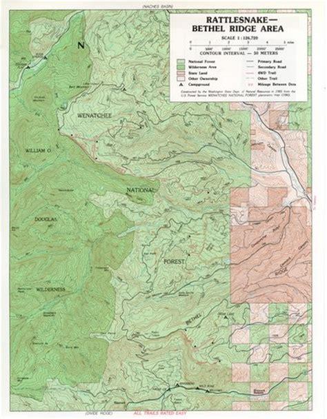 Rattlesnake - Bethel Ridge Area - Maplets