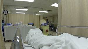 Hospital Bed Patient After Emergency Surgery POV HD ...