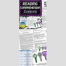 Reading Comprehension Lessons  Teaching Reading