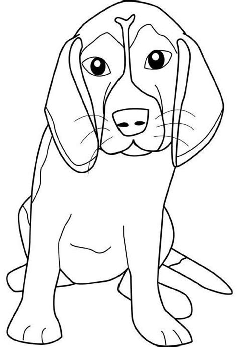 Beagle Kleurplaat by Beagle Teenagers Coloring Pages Dogs Coloring Pages
