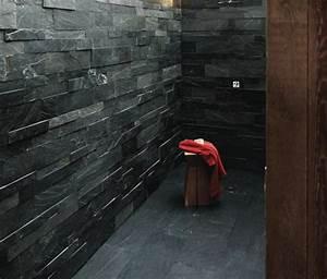salle de bain ardoise naturelle et chic With ardoise pour salle de bain