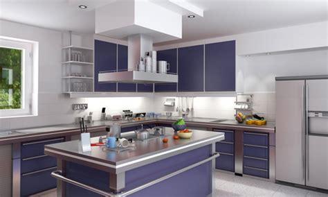 salon cuisine moderne décoration cuisine moderne