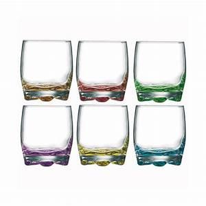 Verre A Verrine : lot de 6 verres eau 27 5 cl assortis 7069007 arc home boulevard ~ Teatrodelosmanantiales.com Idées de Décoration
