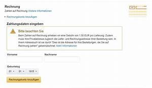 Auf Rechnung Bestellen Amazon : bei amazon auf rechnung kaufen ~ Themetempest.com Abrechnung