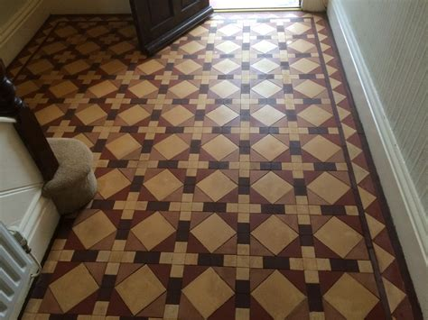 victorian minton floor tile cleaning stripping sealing