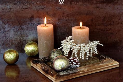 deko aus holz für weihnachten wohnzimmer grau streichen