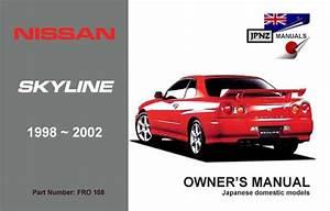 Nissan - Skyline R34 Car Owners User Manual