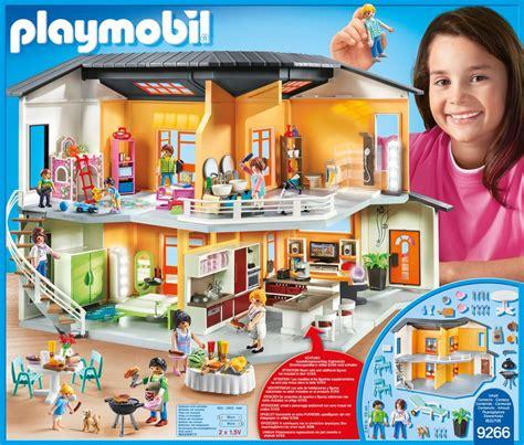 Modernes Haus Playmobil by Playmobil City Maison Moderne 9266 Migros