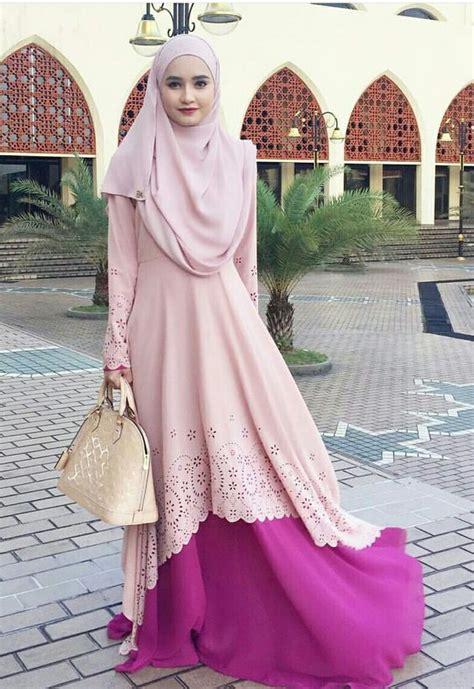 tren dress muslim remaja    simple