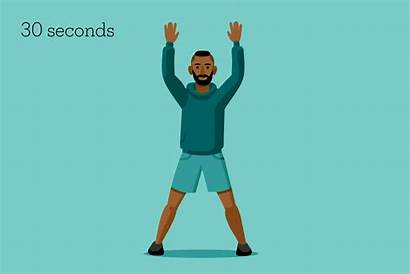 Workout Minute Jumping Jacks Exercise Activity Well