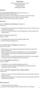 leadership resume for college exle r 233 sum 233 admissions letourneau