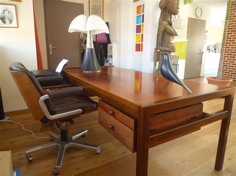 le de bureau vintage bureau de direction ées 70 l 39 atelier 50 boutique