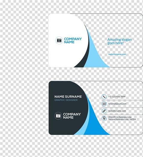 business card visiting card flat design business cards
