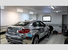 Chrome BMW X6 M dyno test YouTube