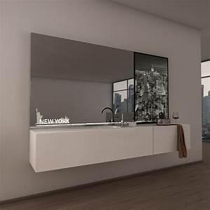 Spiegel Befestigung Wand : teil lack wandspiegel new york 989703999 ~ Orissabook.com Haus und Dekorationen