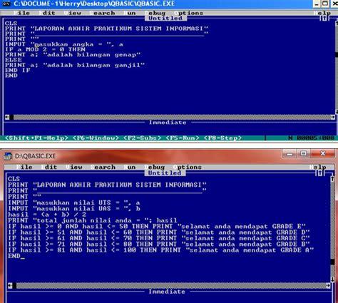 Contoh software atau perangkat lunak pada komputer atau labtop berdasarkan kategorinya demikianlah pembahasan tentang memahami perangkat lunak atau software, fungsi, jenis, dan. DECO SIXTEEN BLOG | CONTOH PROGRAM QBASIC