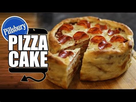pizza cake recipe celeste pepperoni pizza food review funnycat tv