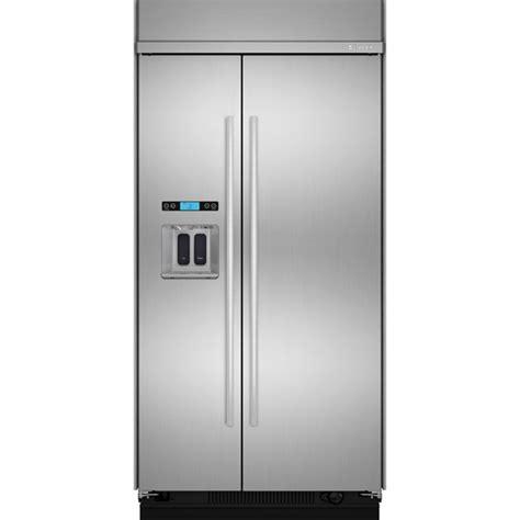 jenn air built  side  side refrigerator  water dispenser  jssedudw  water
