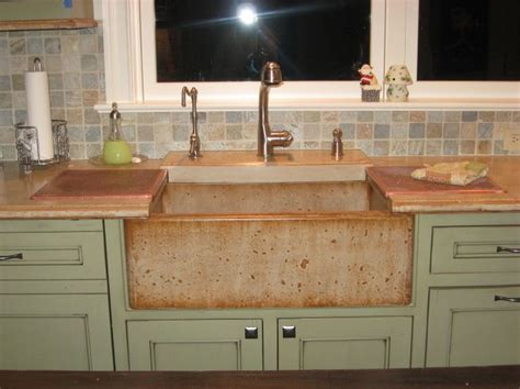 concrete countertop and sink the 25 best concrete countertops colors ideas on