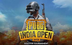 PUBG India Open India39s First PlayerUnknown39s