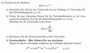 Induktion Berechnen : taylorreihe taylorreihe entwicklungspunkt allgemeine formel konvergenzradius vollst ndige ~ Themetempest.com Abrechnung